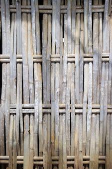 Recinzione di bambù