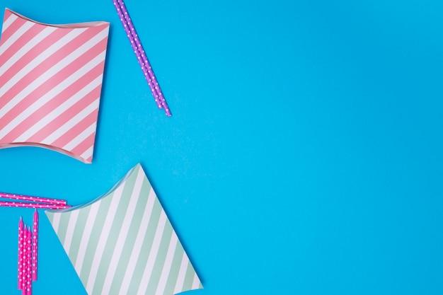 Regali carini per la ragazza di compleanno con spazio di copia