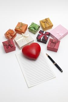 Regali e note da scrivere