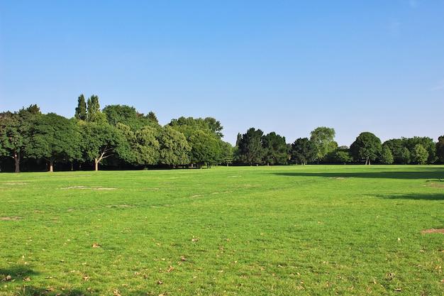 Regent's park nella città di londra, inghilterra, regno unito