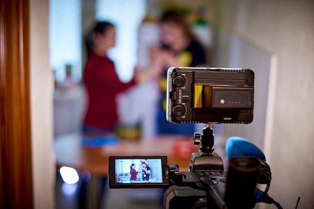 Registrazione della videocamera