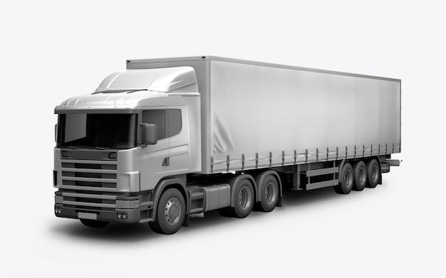 Rendering 3d del camion