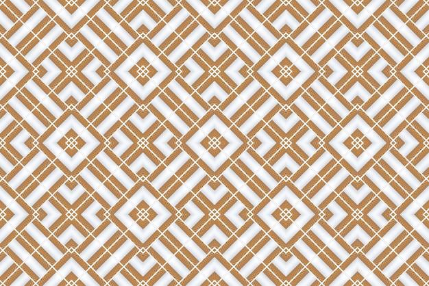 Rendering 3d. fondo di parete di piastrelle di design moderno griglia modello quadrato in legno senza soluzione di continuità.