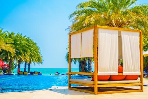 Resort tropicale bella vista del paesaggio