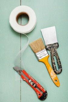 Rete di rinforzo e strumenti