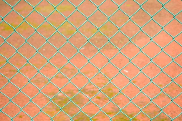 Rete metallica in acciaio per recinzione verde