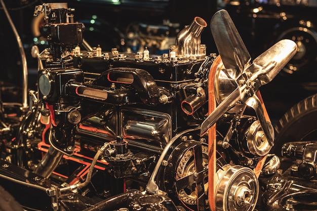 Retro motore a combustione interna