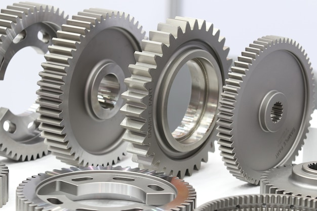 Ricambi per ingranaggi industriali per macchine pesanti