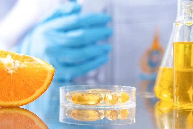 Ricerca sugli estratti naturali nei laboratori