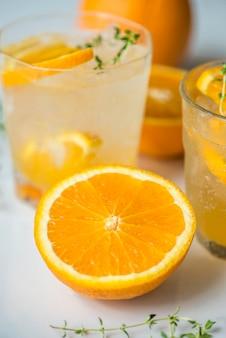 Ricetta d'acqua infusa all'arancia e timo