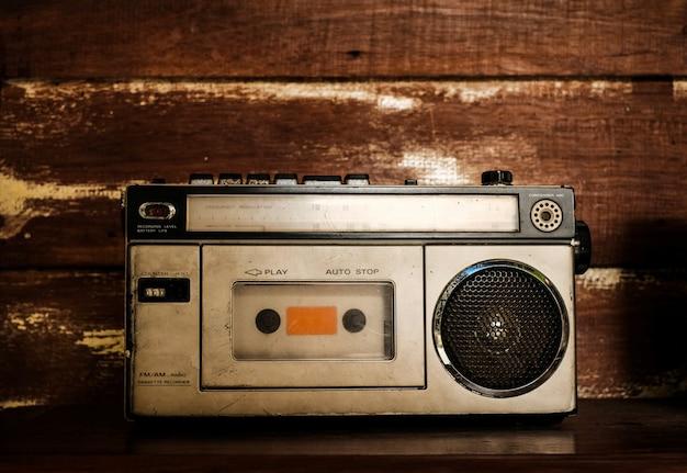 Ricevitore radio vintage