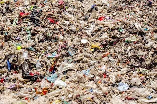 Rifiuti urbani secchi per il processo di produzione di rifiuti