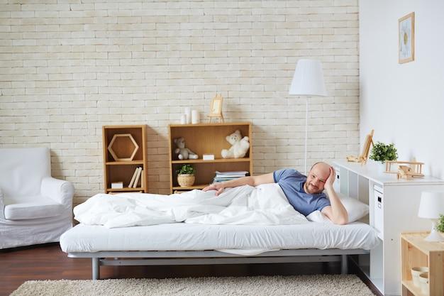 Rilassarsi a letto