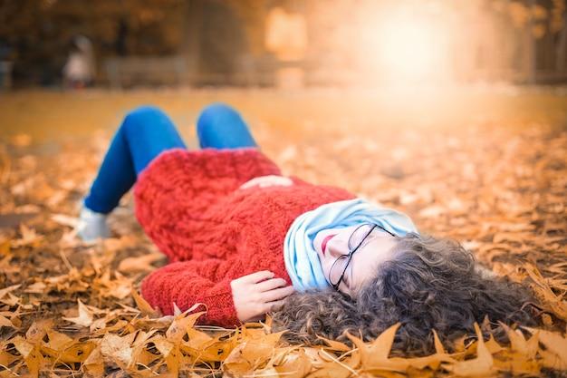 Rilassarsi in autunno