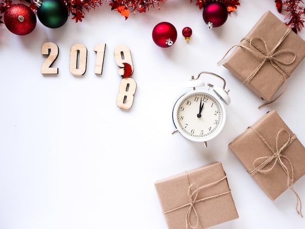 Ringraziamento e natale con il nuovo anno 2019