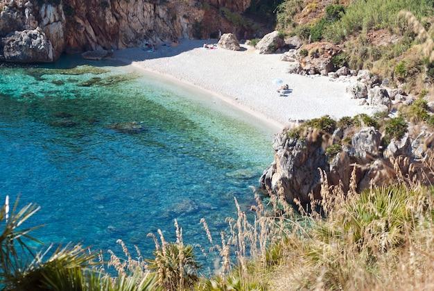 Riserva naturale dello zingaro, sicilia, italia