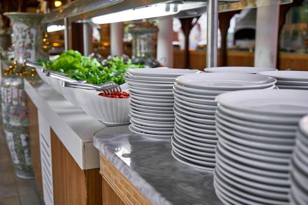 Ristorante a buffet, il ristorante dell'hotel
