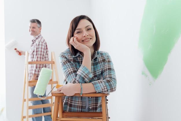 Ristrutturazione e decorazione della casa