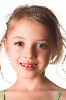 Ritratto di bambina felice