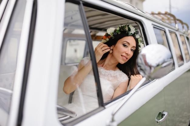 Ritratto di bella sposa