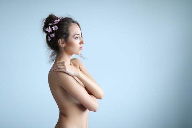 Ritratto di bellezza di una donna