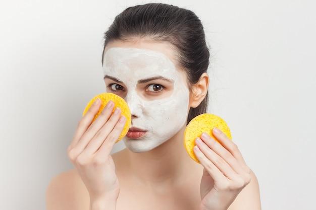 Ritratto di donna in maschera