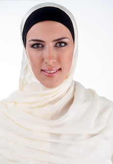 Ritratto di donna musulmana