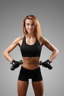 Ritratto di donna sportiva