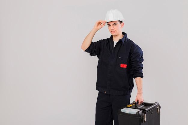 Ritratto di idraulico
