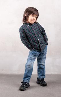Ritratto di ragazzo modello