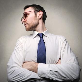 Ritratto di un uomo d'affari