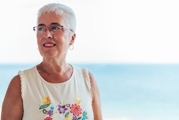 Ritratto di una donna anziana