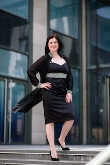 Ritratto di una donna d'affari di successo.
