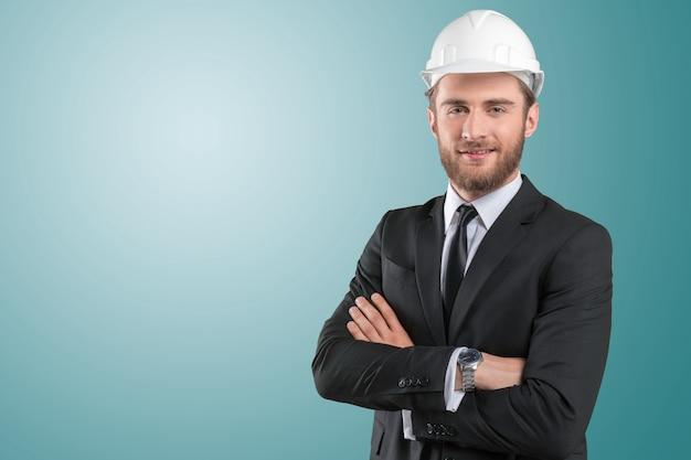 Ritratto di uomo architetto
