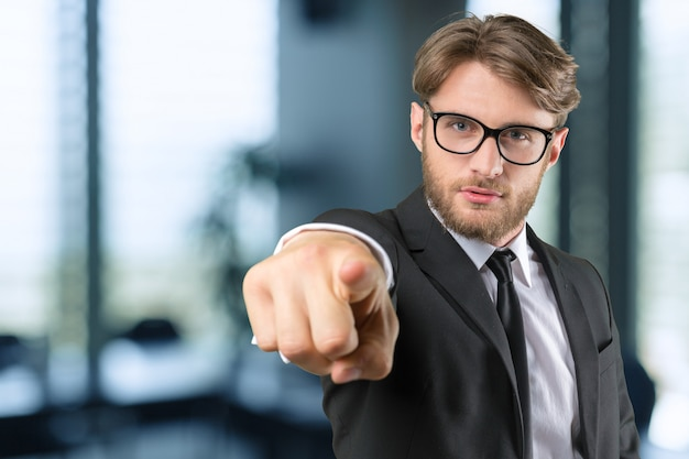 Ritratto di uomo d'affari