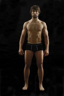 Ritratto di uomo nudo