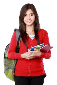 Ritratto grazioso della studentessa