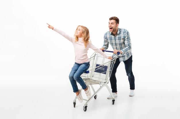 Ritratto integrale di un padre eccitato