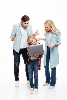 Ritratto integrale di una famiglia irritata