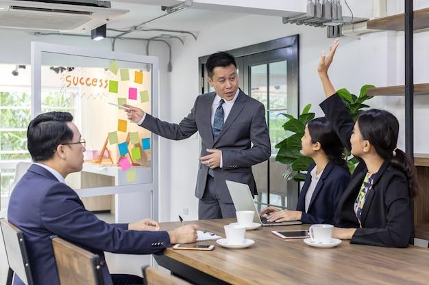 Riunione del team aziendale