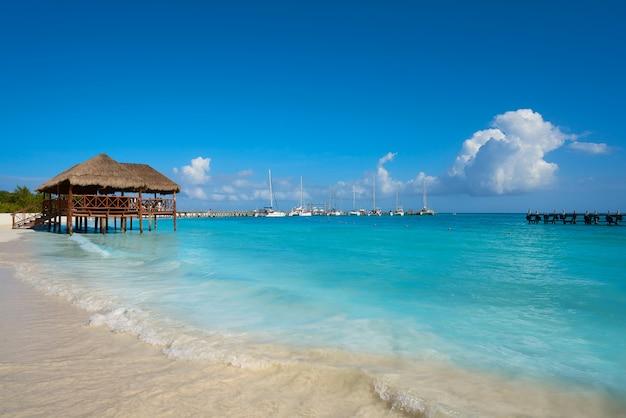 Riviera maya maroma spiaggia caraibica messico
