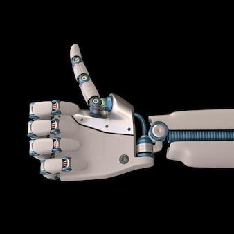 Robot positivo