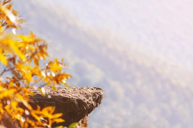 Rock in cima alla montagna