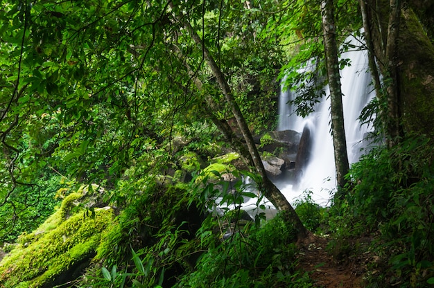 Romklao paradon waterfall.