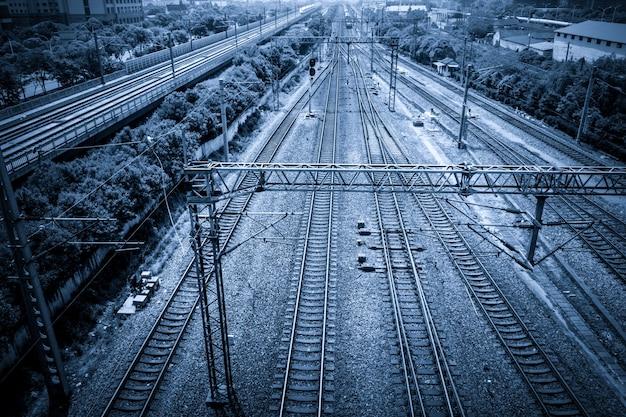 Rotaie del treno