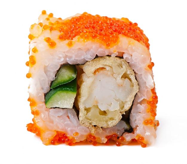 Rotoli di sushi giapponesi freschi tradizionali