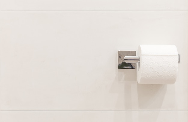 Rotolo di carta igienica con qualche copia