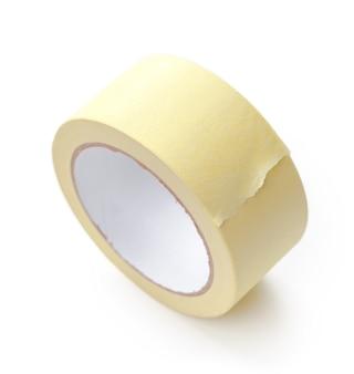 Rotolo di nastro adesivo trasparente isolato