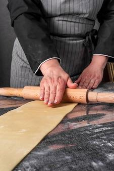 Rotolo di pasta per cuoco