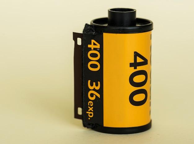 Rotolo di pellicola isolato